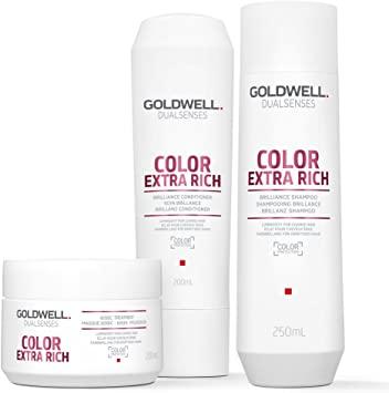Goldwell Dualsenses Color Extra Rich Brillanz Haarpflege-Set (3 Produkte):  Amazon.de: Drogerie & Körperpflege